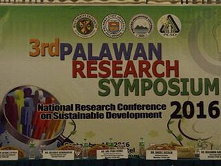 3rd Palawan Research Symposium
