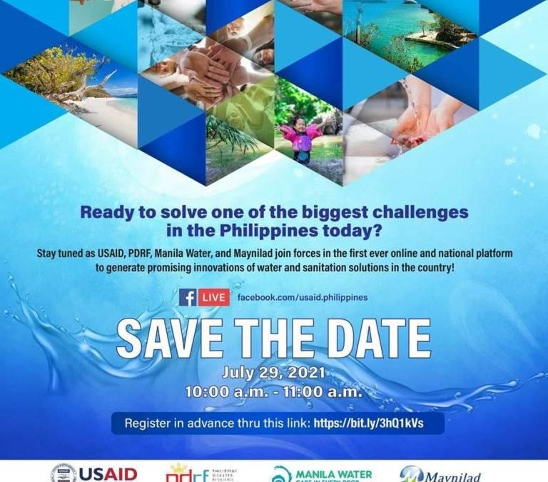 Launch of the Philippine Water Challenge (PhlWC)