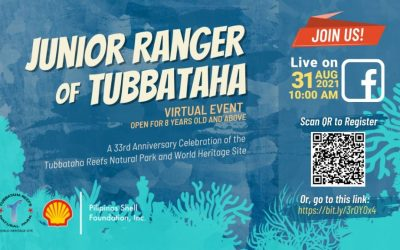 Junior Ranger of Tubbataha Virtual Event open for 8 years old and above