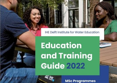 EDUCATION and TRAINING GUIDE 2022